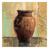 Glazed Pot II Decorative Accents Giclee Print by Silvia Vassileva