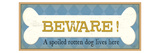 Beware Premium Giclee Print by  Pela