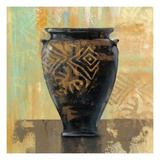 Glazed Pot III Decorative Accents Giclee Print by Silvia Vassileva