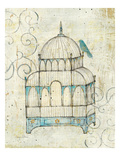 Bird Cage II Premium Giclee Print by Avery Tillmon