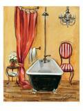 Tuscan Bath III Premium Giclee Print by Silvia Vassileva