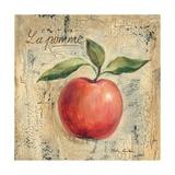 La Pomme Giclee-tryk i høj kvalitet af Silvia Vassileva