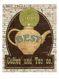 Best Coffee and Tea Giclee Print by Avery Tillmon