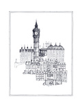 Big Ben Premium Giclee Print by Avery Tillmon