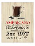 Americano Premium Giclee Print by Marco Fabiano