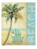 Ocean Beach I Giclee Print by Daphne Brissonnet
