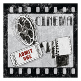 Cinema Giclee Print by Wild Apple Portfolio