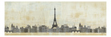 Eiffel Skyline Giclee Print by Avery Tillmon
