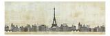 Eiffel Skyline Premium Giclee Print by Avery Tillmon