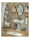 French Bath I Premium Giclee Print by Silvia Vassileva