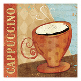 Jazzy Coffee I Giclee Print by Veronique Charron