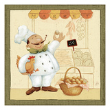 Chef's Market I Giclee Print by Daphne Brissonnet