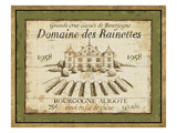 French Wine Label III Premium Giclee Print by Daphne Brissonnet