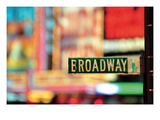 Broadway Reproduction procédé giclée par Ben Richard