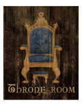 Regal Throne Kunstdrucke von Avery Tillmon