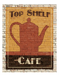 Top Shelf Café Kunstdrucke von Avery Tillmon