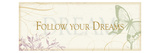Follow your dreams Premium Giclee Print by  Pela