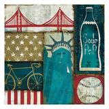 American Pop I Giclee Print by Mo Mullan