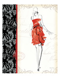 French Couture III Poster di Avery Tillmon