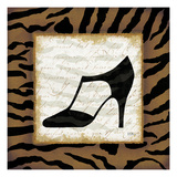 Safari Shoes III Print by Mo Mullan