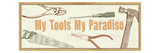 My tools, my paradise Premium Giclee Print by  Pela