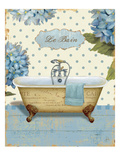 Thinking of You Bath I Premium Giclee Print by Daphne Brissonnet