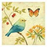 Garden Passion I Premium Giclee Print by Daphne Brissonnet