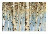 White Forest I Giclee Print by Lisa Audit