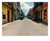 La Vieille Havane Vide Premium Giclee Print by Sebastien Nouet