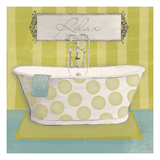 Polka Tub I Giclee Print by Sarah Adams