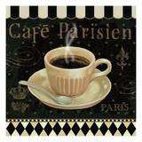 Cafe Parisien I Premium Giclee Print by Daphne Brissonnet