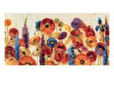 Joyful Garden Giclee Print by Silvia Vassileva