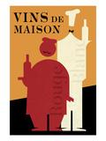 Vins de Maison Giclee Print by Wild Apple Portfolio