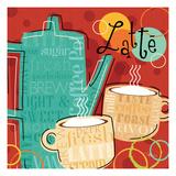 Funky Brew III Premium Giclee Print by  Pela