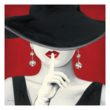 Haute Chapeau Rouge I Giclee Print by Marco Fabiano