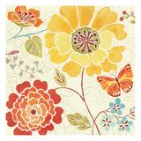 Spice  Bouquet III Premium Giclee Print by Daphne Brissonnet