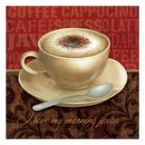 Coffee Talk I Premium Giclee Print by Daphne Brissonnet