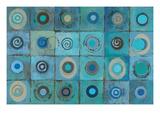 Underwater Mosaic Premium Giclee Print by Silvia Vassileva