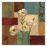 Retro Floral I Prints by Silvia Vassileva