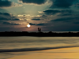 Romantic Sunset Photographic Print by Josh Adamski