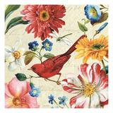 Rainbow Garden III Giclee-tryk i høj kvalitet af Lisa Audit