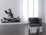 Ninja Small Wall Decal