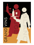 Grand Vins Posters by Hugo Wild