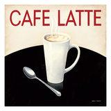 Cafe Moderne I Premium Giclee Print by Marco Fabiano