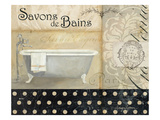 Savons de Bains II Reproduction proc&#233;d&#233; gicl&#233;e par Avery Tillmon