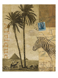 Voyage to Africa Plakater af Hugo Wild