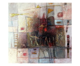 Promenade Premium Giclee Print by Roger Burgi