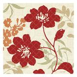 Floral Shadows II Giclee Print by Lisa Audit