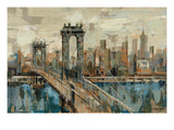 Vue de New York Reproduction giclée Premium par Silvia Vassileva