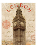 Letter from London Giclee Print by Wild Apple Portfolio